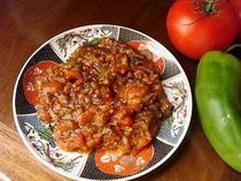 Salade deTomates et Poivrons - Taktouka, Easy dinner recipes