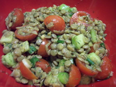 Salatet Ads - Egyptian Lentil Salad,easy dinner recipes