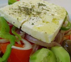 Horiatiki Salata is a Colourful Greek Salad