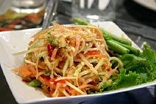 Som Tam (Green Papaya Salad) Easy Dinner Recipes,party hors d oeuvres recipes